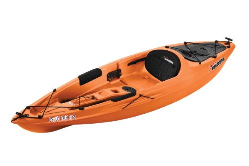 Sun Dolphin Bali SS Sit-on top Kayak (Tangerine, 10-Feet) (Pelican Sit Kayak On)