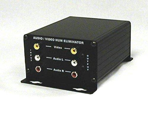 Calrad 40-973 Composite Video and Stereo Audio Hum Eliminator