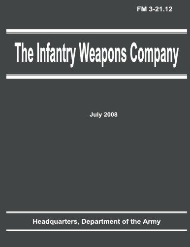The Infantry Weapons Company (FM 3-21.12) PDF