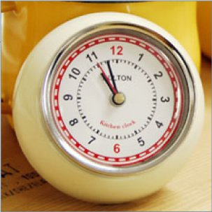 ダルトン KITCHEN CLOCK IVORY 100-193IV
