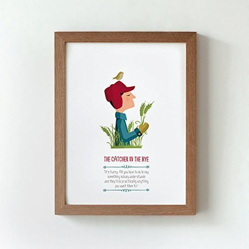 Amazoncom Print The Catcher In The Rye Available In Two Sizes