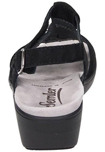 Sandalias Para Ramona Mujer Negro Semler X5YqSY