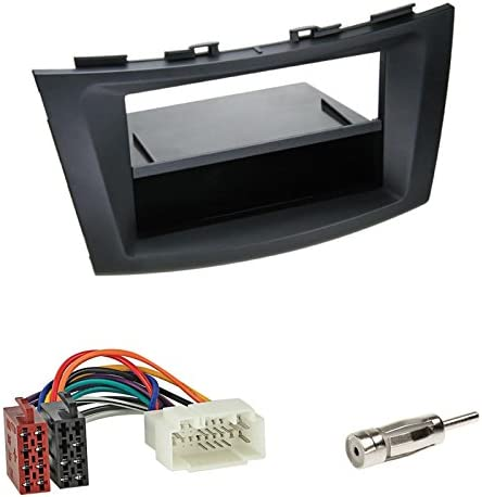 Mounting Set 2 Din Car Radio Cover Iso Radio Faceplate Elektronik