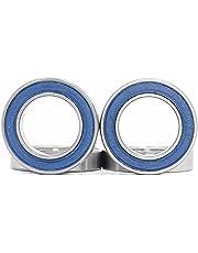 17286 2RSV MAX patronlager, storlek 17 x 28 x 6 mm kromstål blå förseglad med fett, 17286LLU Cart Full Balls Bearing för Bike Suspension Pivots, (Pick från 4 st)