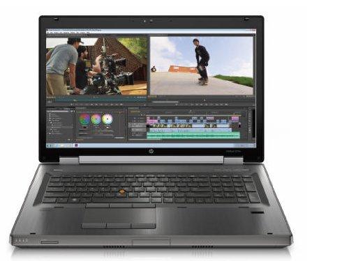 HP EliteBook 8770w C7A69UT 17.3-Inch Notebook (2.4 GHz Intel Core i7-3630QM Processor, 8GB SO-DIMM DDR3, 500GB HDD, AMD FirePro M4000, Windows 7 Professional) Gunmetal