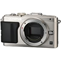 Olympus Mirrorless SLR E-PL6 Body Only (Silver) - International Version