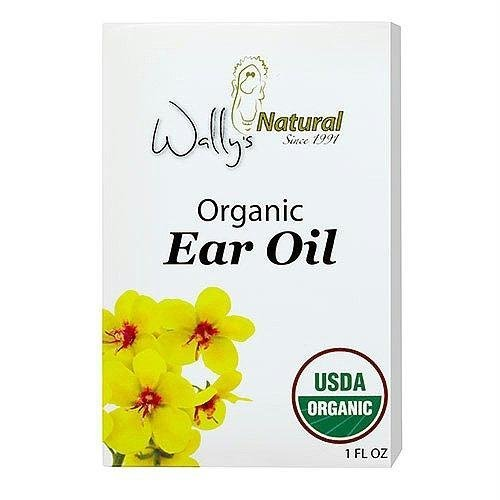 Wally's Natural Products Organic Ear Oil, Unique Blend, 1 Fluid Ounce