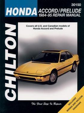 Chilton CHI30150 TCC Honda Accord/Prelude 84-95 (Diagnostic Auto Machine)