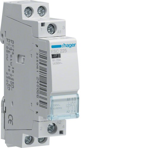 hager-contacteur ESC225 25 A 2NA 230 V