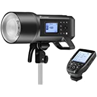 Flashpoint XPLOR 600PRO TTL Battery-Powered Monolight Built-in R2 2.4GHz Radio Remote System R2 Pro Transmitter Nikon (Bowens Mount) - Godox AD600 Pro