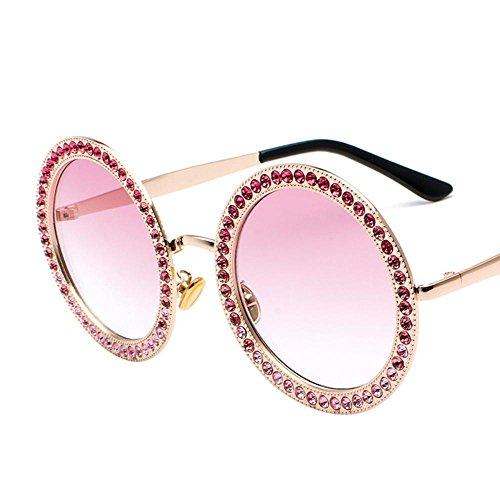 Aoligei Tour film Diamond lunettes de soleil Fashion océan multicolores de verres à pied Voir la rue lunettes de tir FmWymu