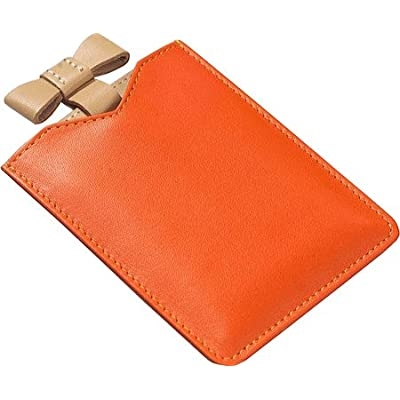 best Clava Women's Ribbon Mirror Small Leather