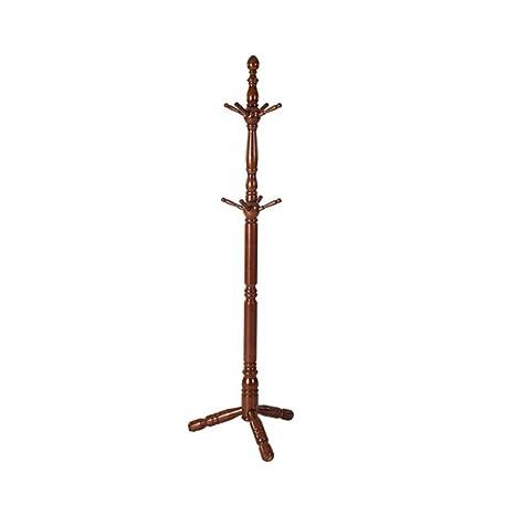 Amazon.com: ZUOANCHENCoat - Perchero de madera auténtica ...