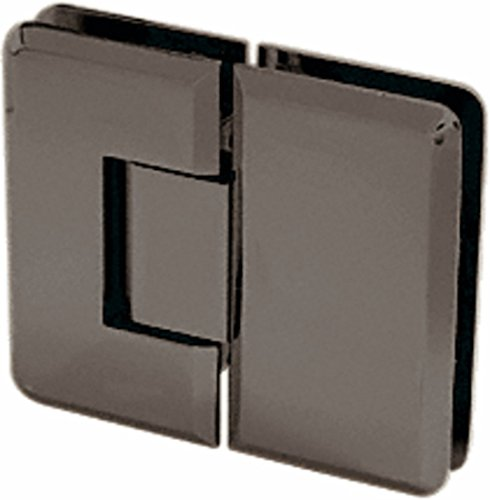 - CRL Cologne 180 Series Oil Rub Bronze 180° Glass-to-Glass Hinge