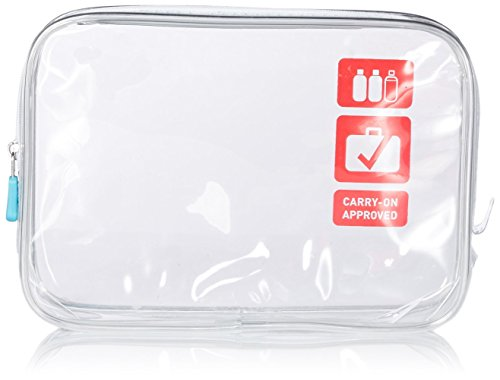 Price comparison product image Flight 001 Carry On Clear Quart Bag, Clear, One Size