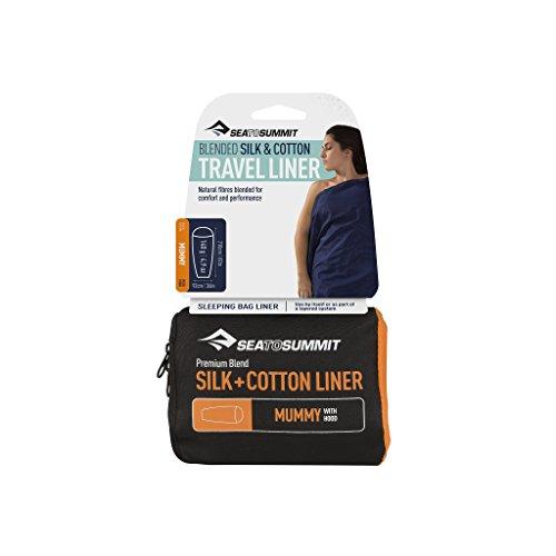 (Sea to Summit Premium Blend Silk/Cotton Liner (Traveler w/Pillow Case 88