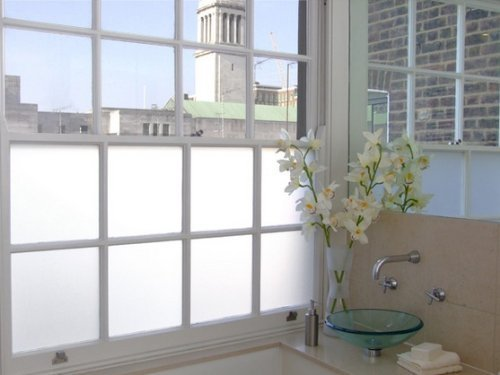50cm x 2 Metre Opal Frosted Window Film - Privacy Frosted Glass Film Active Window Films