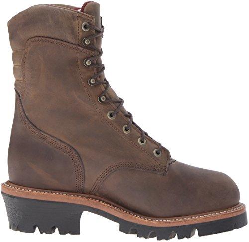 Chippewa Hommes 9 Imperméable À Leau Isolé-orteil Eh Logger Boot Bay Apache