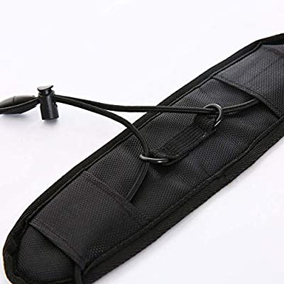 Luggage Straps - 3Pcs Luggage Bungee Strap Add a Bag - Lightweight and Durable Elastic Strap for Extra Luggage Adjustable Belt Travel Accessories - Black