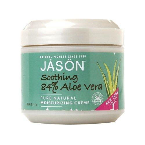 (Jason Soothing Aloe Vera 84% Moisturizing Creme 4 oz (Pack of)