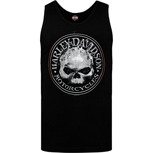 Harley-Davidson Military Men's Graphic Tank - NSA Bahrain | Smokey G X-Large