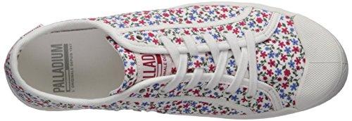 Palladium Mujeres Pallaphoenix Cvs Prt Sneaker White-222