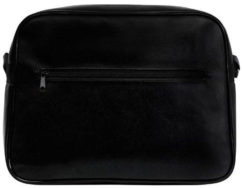 Tasche Swissair - Umhängetasche - Airline - Schultertasche - schwarz - Kunstleder - Lizenziertes Originaldesign - LOGOSHIRT