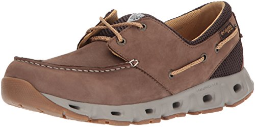 Columbia PFG Men's BOATDRAINER III PFG Boat Shoe Cordovan, Curry 11.5 Regular US