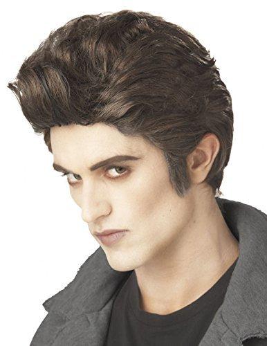 Love at First Bite - modern twilight vampire brown wig by California Costume (Modern Vampire Costumes)