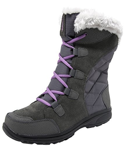 (Columbia Women's Ice Maiden II Snow Boot (8.5 B(M) US, Shale/Northern Lights))