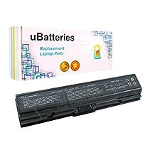UBatteries Laptop Battery Toshiba Satellite A200 A205 A210 A215 A300 A305 A350 A355 A355D A500 A505 L300 L305 L305D L450 L455 L455D L500 L500D L505 L505D L550 L555 L555D M200 M205 - 9 Cell, 6600mAh