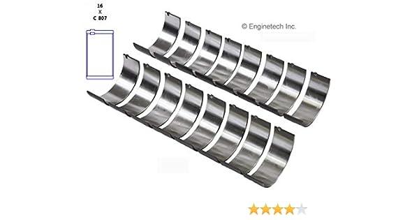 EngineTech BB253J001 Rod Bearings GM 262 265 302 305 325 327 350 364 400