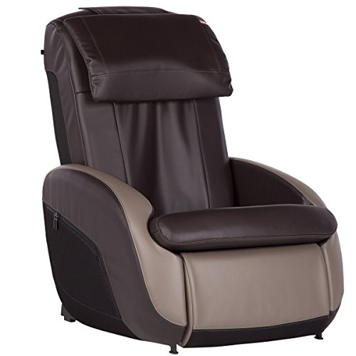 Human Touch iJOY 2.1 Reclining Massage Chair, 3 Programmed Massage Modes, One Size, Espresso/Gray