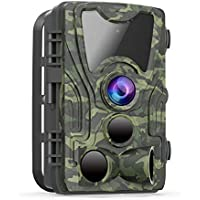 FHDCAM Trail Camera - Wildlife Game Hunting Cam with...