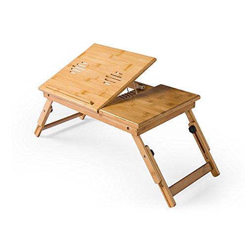planche a repasser Table pliante Table pour ordinateur portable Lève-personne pliable Bureau d'ordinateur Lit en bambou avec lit simple Table à repasser
