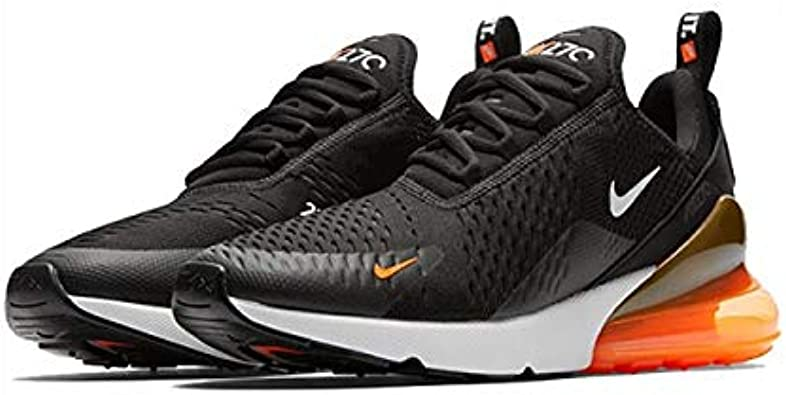 Nike Air Max 270 Just Do It Noir total orange Chaussures