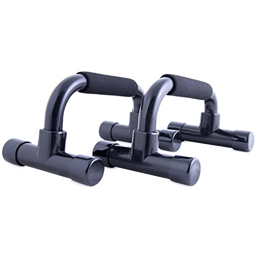 CAP Barbell HHP 003EB Cap Push Up Bars, Black