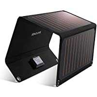 RAVPower 21W Solar Charger with Dual USB Ports