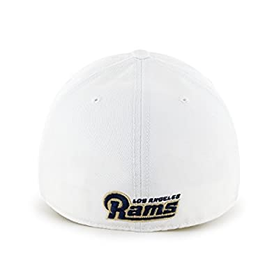 NFL Los Angeles Rams '47 Franchise Fitted Hat, White, Small,White