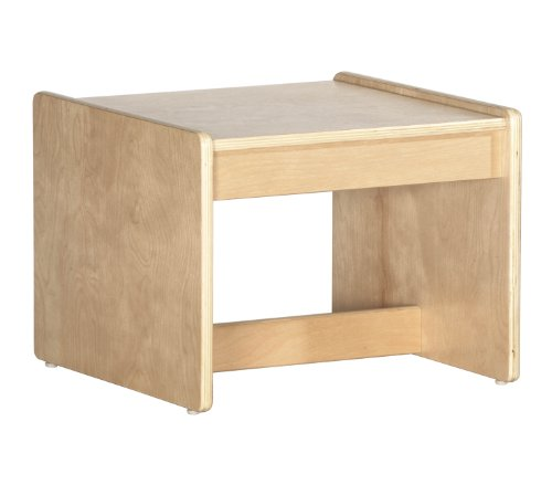 Offex Birch Hardwood Childrens Living Room End Table by Offex (Image #1)