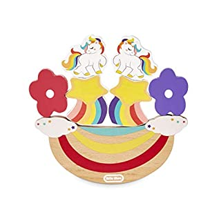 Little Tikes Wooden Critters Unicorn Developmental Balancing Toy