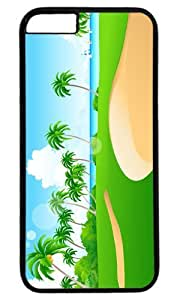 Beach Thanksgiving Halloween Masterpiece Limited Design PC Black Case for iphone 6 by Cases & Mousepads