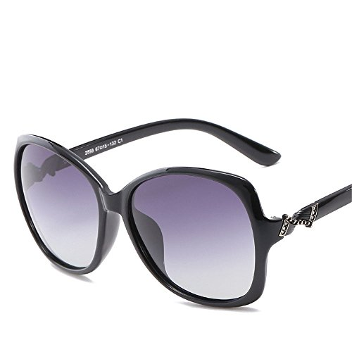 D lunettes fashion de conduite Lunettes Chahua dAmérique boîte et de brillant en grande Europe lunettes soleil style uv pPqwR1xTF