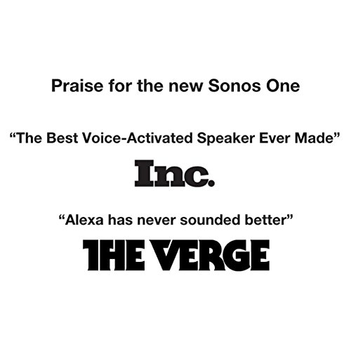 2-Pack of Sonos One – Voice Controlled Smart Speakers with Amazon Alexa Built In (Black) - 4