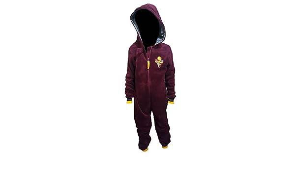 Primark Home - Pijama de una pieza - para niño rojo granate 9-10 Años: Amazon.es: Ropa y accesorios