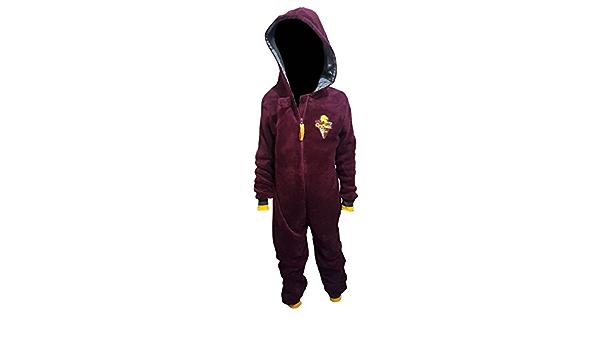 Primark Home - Pijama de una pieza - para niño rojo granate ...