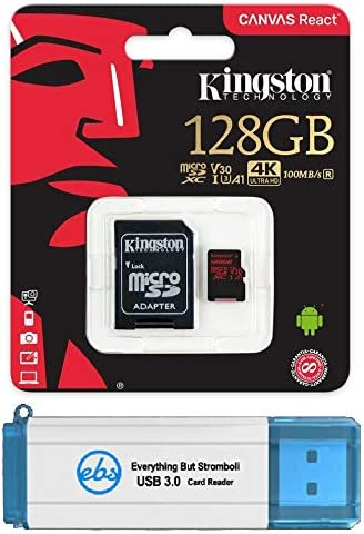 Amazon Kingston Micro Canvas React áモリーカード ¢ダプター Ðンドル Gopro Hero 7 Öラック ·ルバー Hero7 Ûワイト «メラ Sdcr Plus 1 Everything But Stromboli Tm 3 0 Tf Sdカードリーダー ­ングストンテクノロジー Microsdカード ɀšè²©