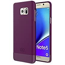 Samsung Galaxy NOTE 5 Case, Encased® Ultra-thin SlimSHIELD Hybrid Shell (**4 Cool Colors Available**) (Royal Purple)
