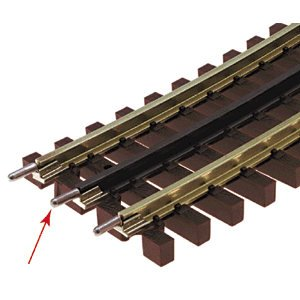 Transition Rail Joiners - O Tubular Transition Joiners (6) by Atlas
