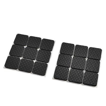Amazon.com: eDealMax 18 piezas DE 2,8 cm mesas cuadradas de ...